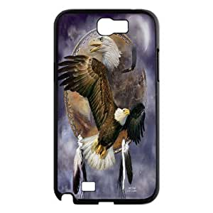 [Tony-Wilson Phone Case] For Samsung Galaxy Note 2 -IKAI0446956-Cute Eagles