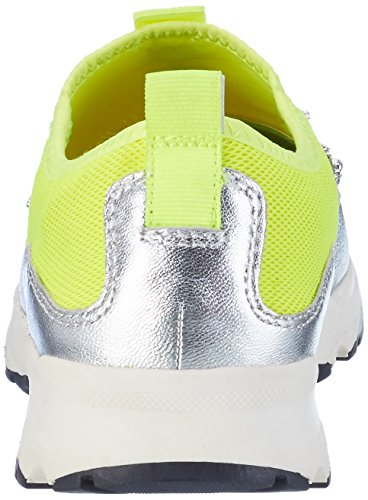 Carvela Women's Lola Np Trainers Yellow (Yellow 93) 7tyN1dgj