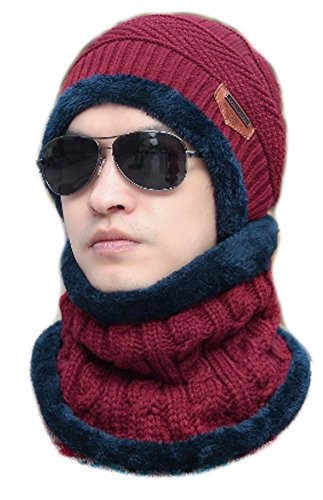 CC-JJ - Knitting Wool Hat for Unisex Caps Lady Beanie