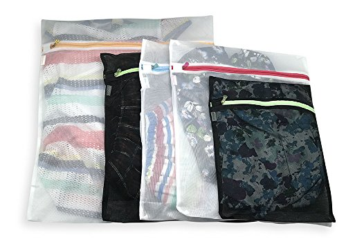 PAIRFORMANCE Laundry Bag Set of 5 by Lingerie Mesh wash bag,