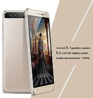 HyRich Teléfono móvil libre, smartphone de 6 pulgadas, Android 5.1 ...