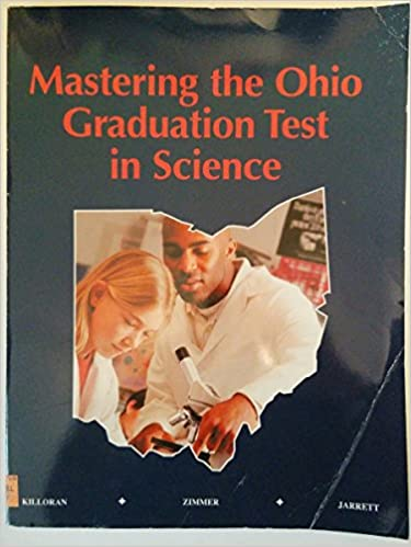Book Mastering the Ohio Graduation Test in Science