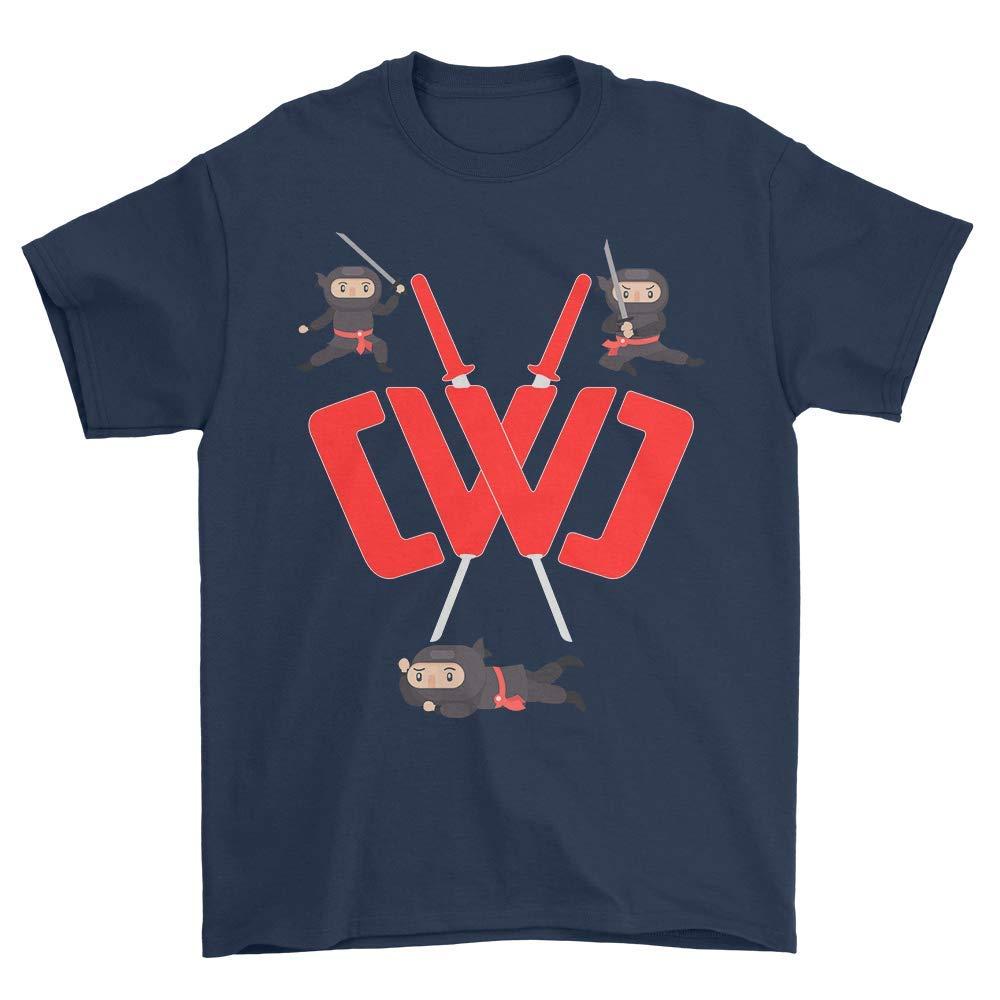 2294ff6350d7 Amazon.com: CWC Chad Wild Clay Ninja T Shirt Sword & Weapon Gift ...
