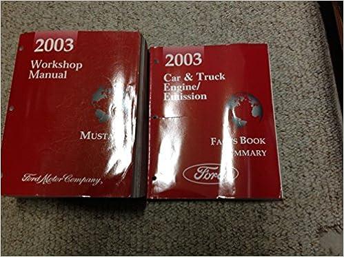 mustang 2003 repair manual