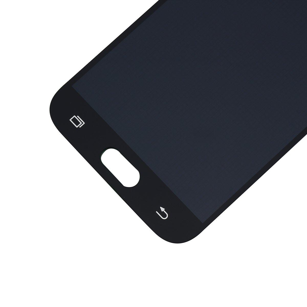 YHX-OU Reparaci/ón y reemplazo para Samsung Galaxy J5 Negro Digitizador de Pantalla t/áctil Un Conjunto de Herramientas 2017 J530 SM-J530F LCD Display