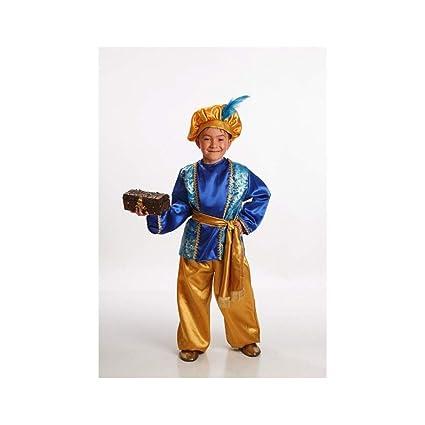 Disfraz de Paje Azul para Niño en varias tallas