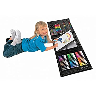 Art 101 Kids 154-Piece Trifold Easel Art Set | Educational Computers