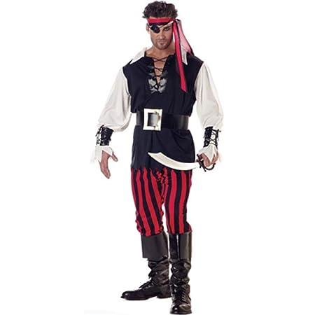FHTD Disfraz De Halloween Carnaval Adulto Cosplay Piratas ...
