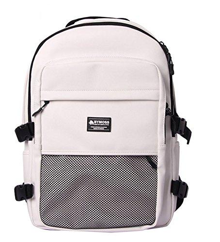 [バイモス]BYMOSS マキシマム リュック 9シリーズ(Maximum Backpack 9Series) [並行輸入品] B01NCJ9A7E ホワイト ホワイト