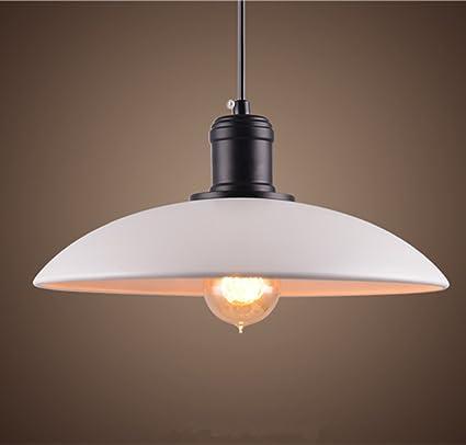 Moderno Sencillo E27/E26 Colgante de Luz, Blanco Forma de ...