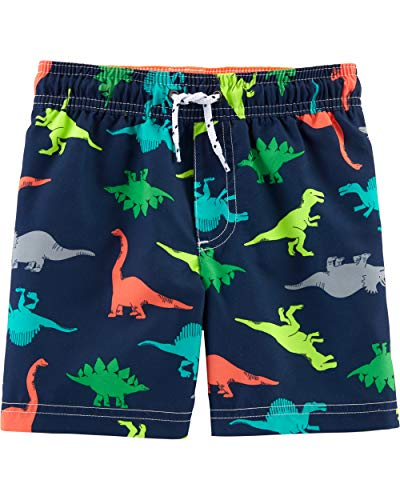 Carter's Toddler Boys' Swim Trunk, Dinosaurs, -