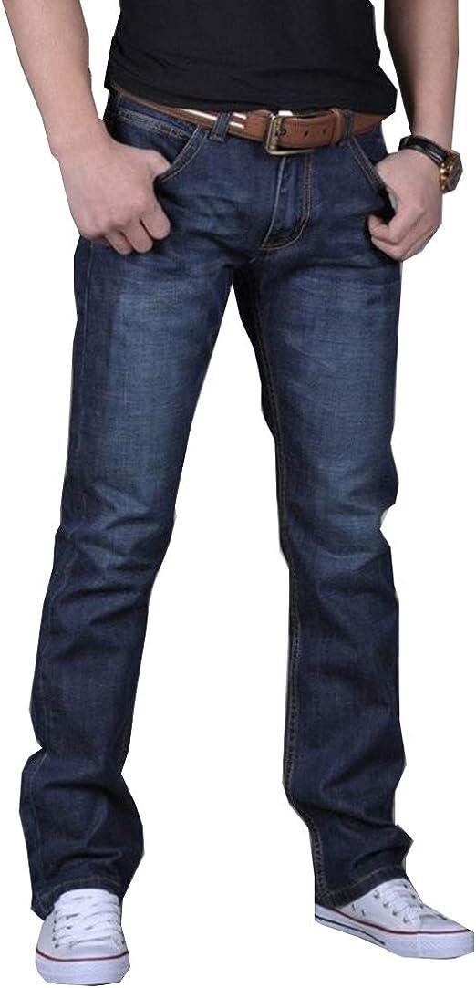 NOQINHOO ジーンズ メンズ レギュラー ストレート夏 薄手デニム 美脚 細身 ズボン 大きいサイズ 春夏秋冬 ロングパンツ