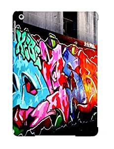 Hot Tpu Cover Case For Ipad/ Air Case Cover Skin Design - Graffiti Urban Art Paint Buildings
