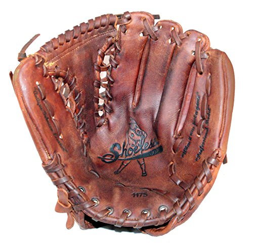 Diamond Ready Baseball Gloves Shoeless Joe Players Series 11 3/4'' Tennessee Trapper Glove (Right Hand Throw) ()