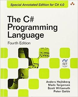 the c programming language covering c 40 microsoft net development amazoncouk anders hejlsberg mads torgersen scott wiltamuth peter golde