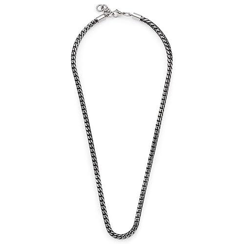 Jewels by Leonardo Collar cadena Hombre acero inoxidable ...