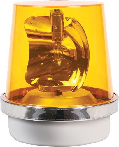 Edwards Signaling 52A-N5-40WH Rotating Halogen Beacon, 120V AC, Amber, 40W, 265 Lumens