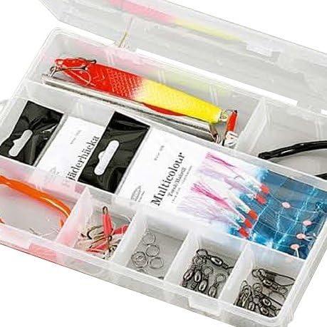 Fladen (Pirk y mar) Essentials pesca Terminal Tackle Starter Pack en una caja – 20 x 13 x 4 cm) [19 – 2556]: Amazon.es: Deportes y aire libre