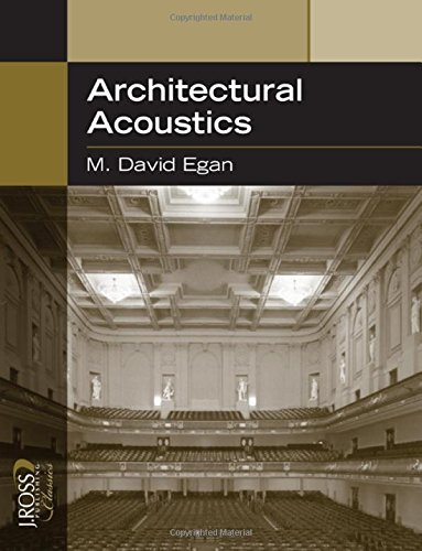 Architectural Acoustics (J Ross Publishing Classics) by Brand: J. Ross Publishing