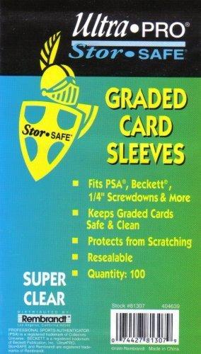 Ultra Pro Graded Card Sleeve (100 Sleeves)