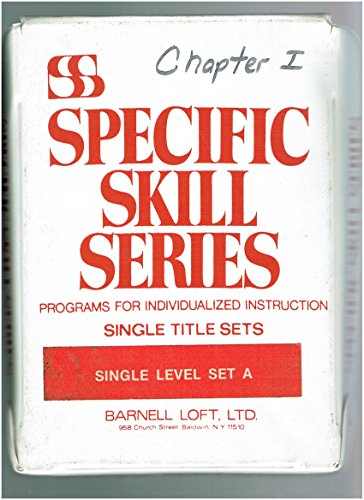 Specific Skill Series Starter Set A