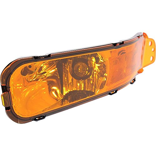 Turn Signal Light compatible with MUSTANG 05-09 Driver Side LH Assembly Park/Signal/Side Marker Lamp ()
