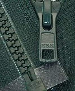 """36/"""" YKK® #10 Molded Plastic Separating ~ Dark Green 890 ~ ZipperStop"""
