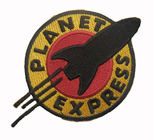 futurama-the-planet-express-sew-iron-on-patch-badge-embroidery