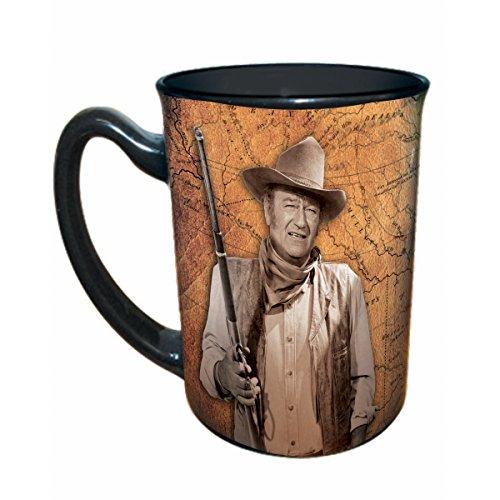 Coffee Fine Morning Mug - John Wayne Coffee Mug I'll Shoot Ya