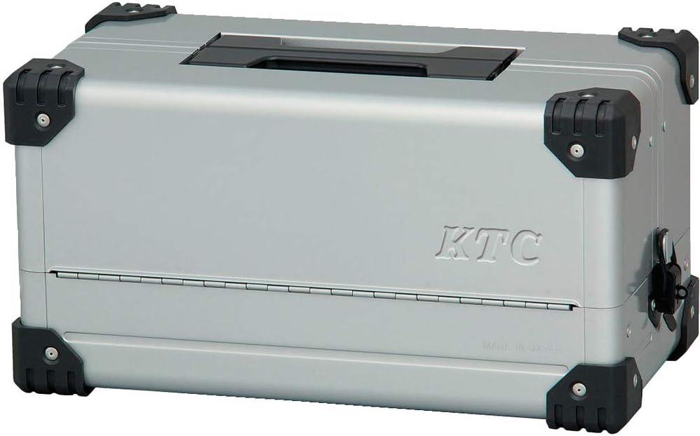 京都機械工具(KTC) 両開きメタルケース メタリックシルバー EK-10A