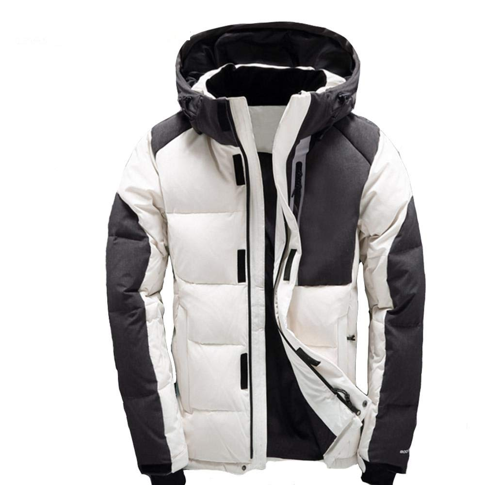 MAZF Men Down Jacket Chaqueta Plumas Hombre invierno Men Down Coat at Amazon Mens Clothing store: