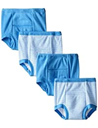 Gerber Toddler Boys' 4 Pack Training Pants, Blue Striped, 2T BOBEBE Online Baby Store From New York to Miami and Los Angeles