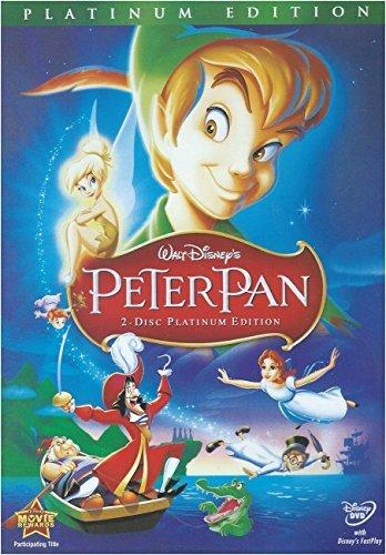 Peter Pan (DVD, 2007, 2-Disc Set, Platinum Edition) -