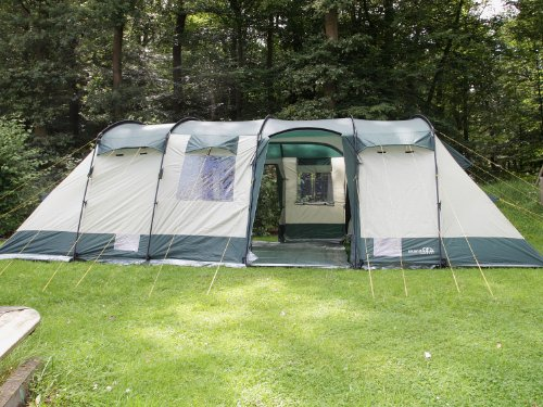 skandika hurricane 12 man family tent. Black Bedroom Furniture Sets. Home Design Ideas