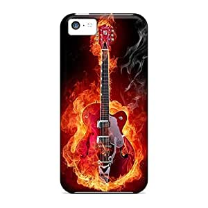 SherieHallborg Iphone 5c Scratch Resistant Cell-phone Hard Cover Unique Design Nice Metallica Skin [XYp8812DdlN]