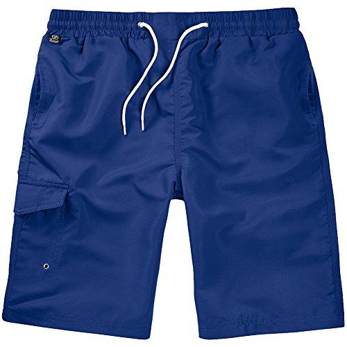 Brandit Hommes Shorts de Bain Navy