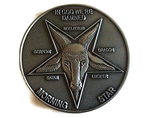 Lucifer Morningstar (TV Show) Pewter-Tone Inspired Pentecostal Token 1:1 Scale - One Token