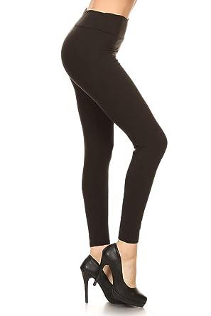 471bf8bbec Leggings Depot Yoga Waist REG/Plus Women's Buttery Soft Leggings at ...