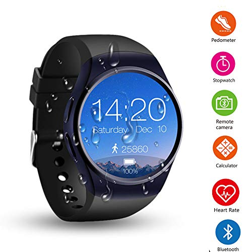 GKCD Call Watch, Magnetic Charger Heart Rate Sleep Monitorin