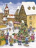 Pinnacle Peak Trading Company Children Decorating the Christmas Tree German Advent Calendar