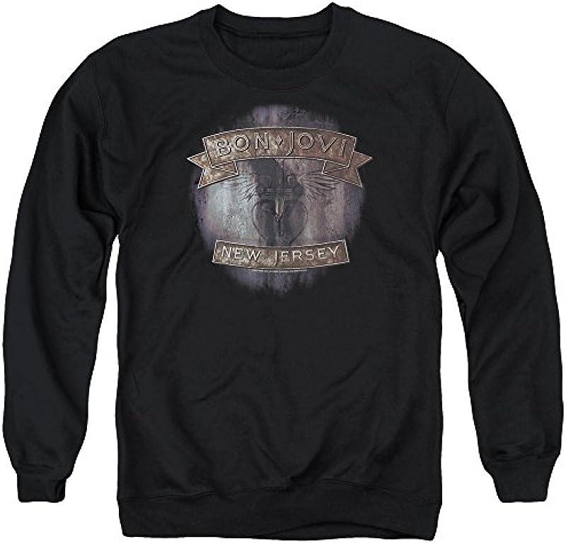 ?Bon Jovi - męski New Jersey Sweater - xxl: Odzież