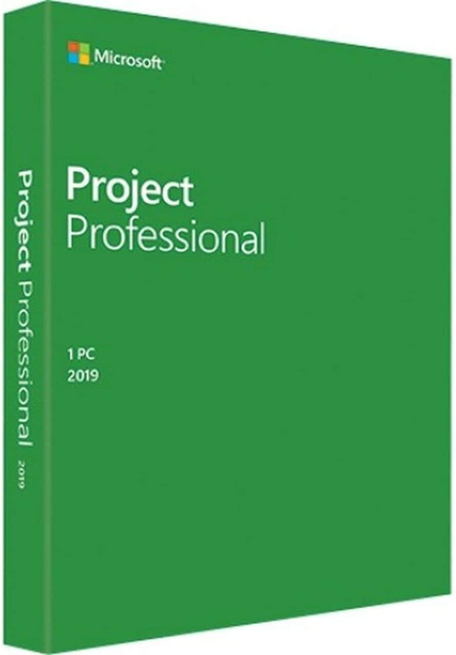 Amazon Com Microsoft Project Professional 2019