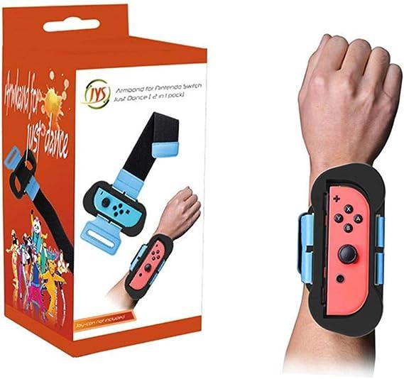 2 pulseras ajustables para mando JoyCon para Just Dance, para ...