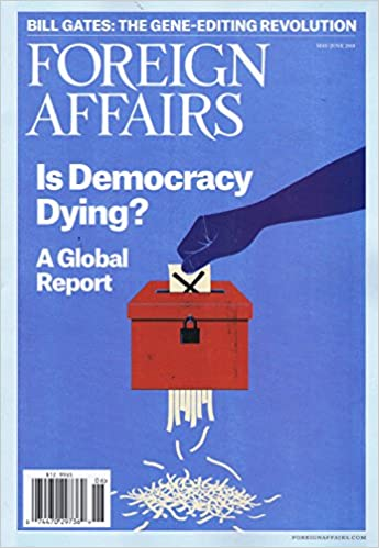amazon foreign affairs us may june 2018 単号