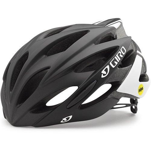 Number Race Game - Giro Savant MIPS Helmet (Black/White, X-Large (61-65 cm))