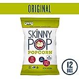 SKINNYPOP Original Popped Popcorn, Individual Bags, Gluten Free Popcorn, Non-GMO, No Artificial Ingredients (Pack of 12)