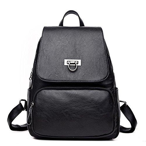 A Backpack Bag Ladies Diagonal Travel Casual Backpack Bag Fashion Student Shoulder Package tTTPXR
