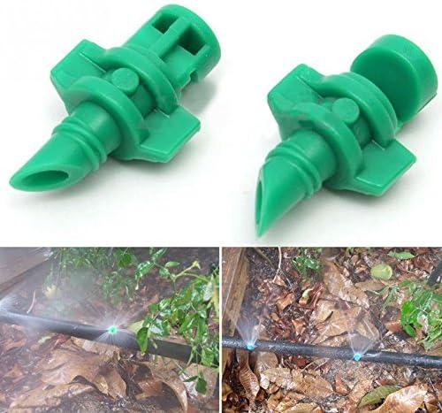 180 ° Wassernebel-Düse Set Drehung Garten Rasen Wasser Sprühen Beschlagen