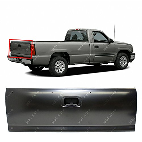 Tailgate Chevy - MBI AUTO - Primered Steel, Tailgate Shell for 1999 2000 2001 2002 2003 2004 2005 2006 Chevy Silverado & GMC Sierra 1500 2500 3500, GM1900115