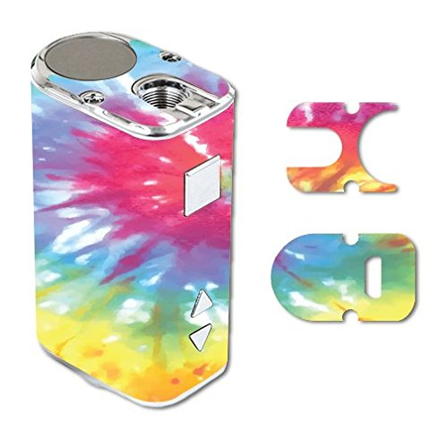 Eleaf iStick 10W Mini Vape E-Cig Mod Box Vinyl DECAL STICKER Skin Wrap / Peace Love Heart Tie Dye Tiedye Hippy